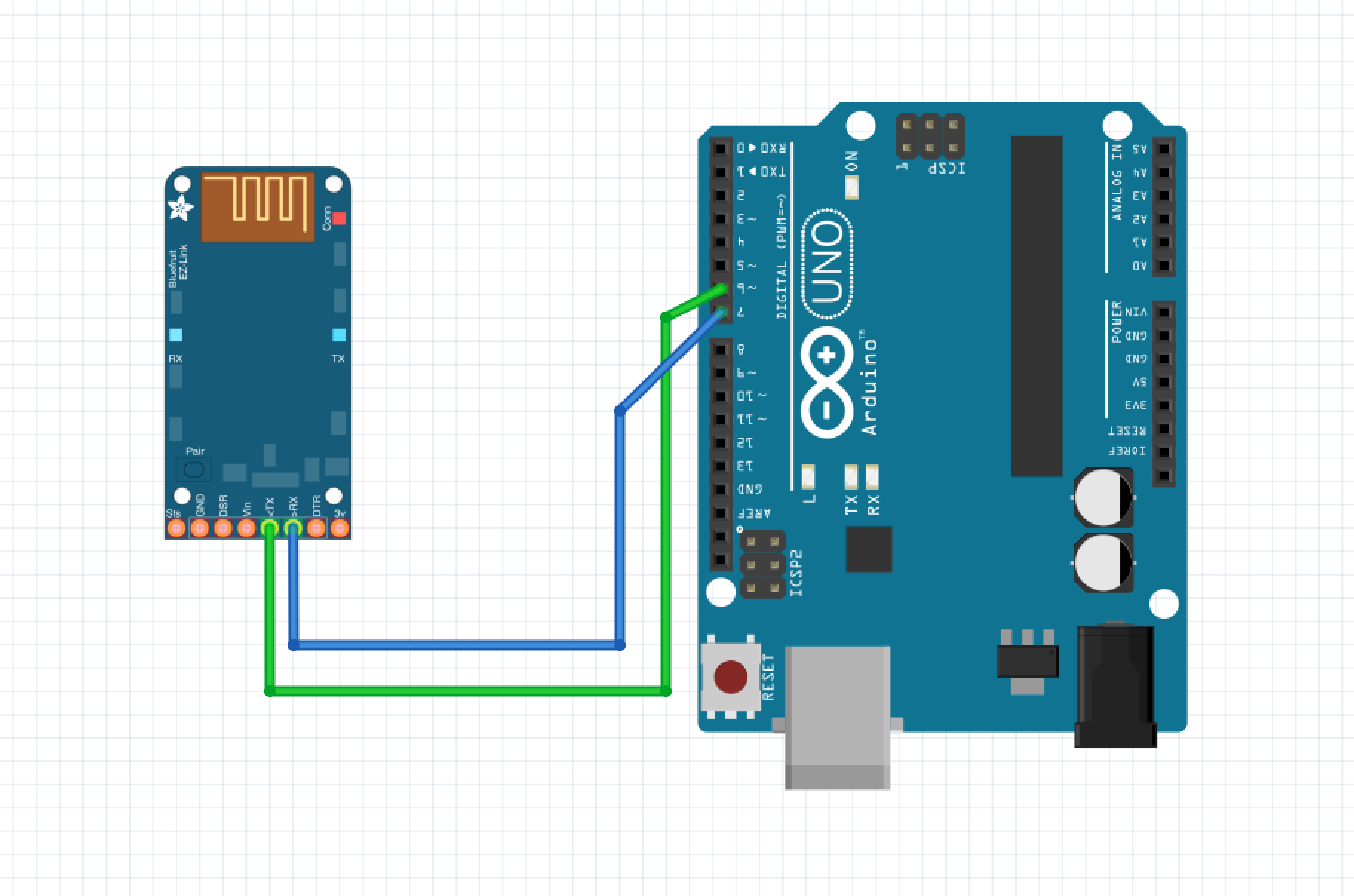 Add bluetooth to your arduino project